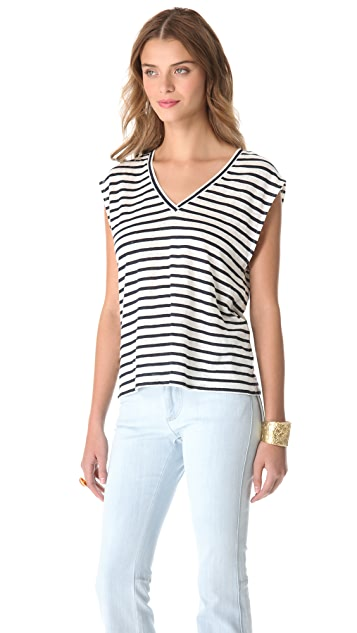 AIR by alice + olivia Sleeveless Boxy Tee
