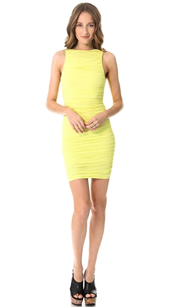 AIR by alice + olivia Ruched Tank Fitted Dress