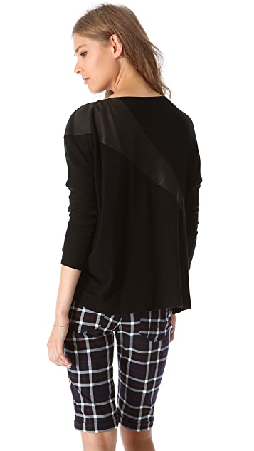 AIR by alice + olivia Slouchy Pullover