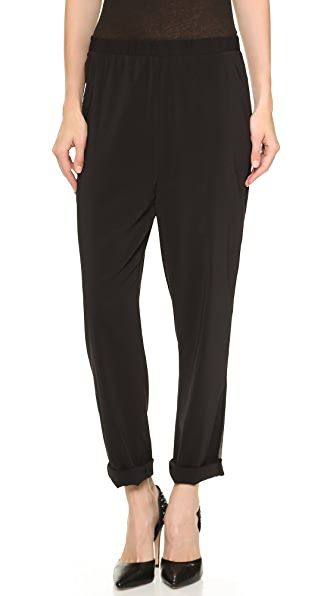 AIR by alice + olivia Side Panel Elastic Waist Sweatpants