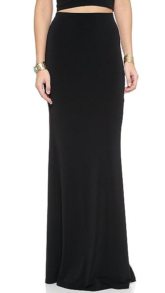 AIR by alice + olivia High Waist Maxi Skirt