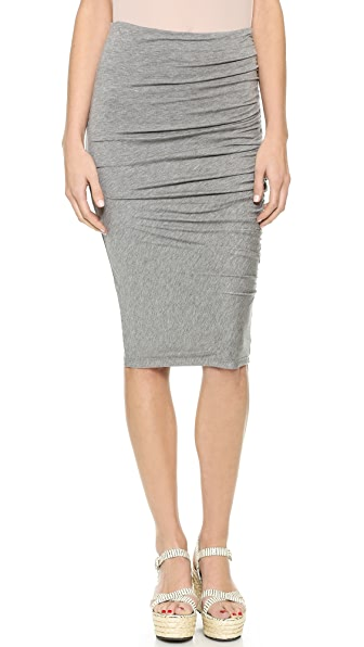 AIR by alice + olivia Side Gathered Skirt
