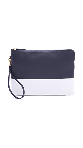 Alice.D Leather Clutch