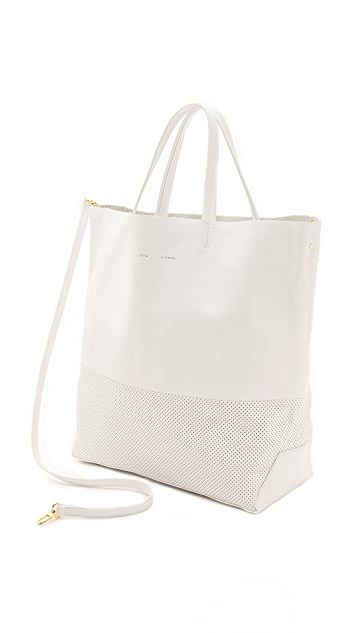 Alice.D Perforated Leather Tote