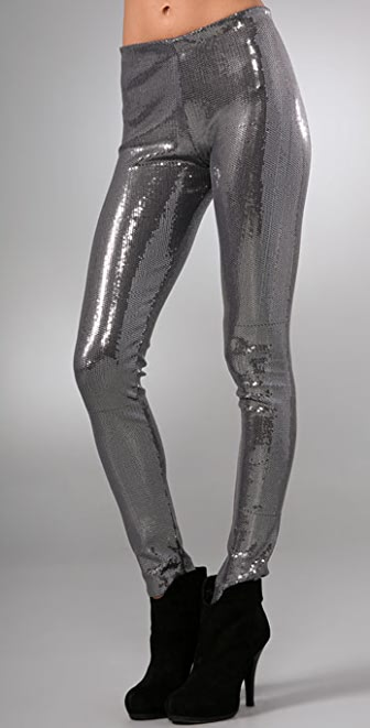 alice + olivia Sequin Leggings