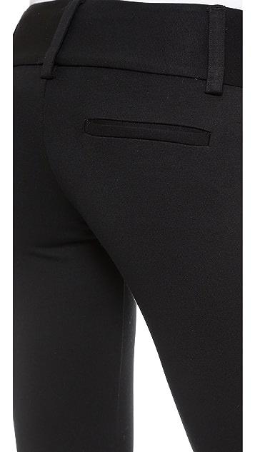 alice + olivia Andrew Wide Waistband Pants