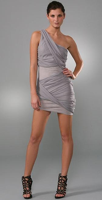 alice + olivia Wrapped Goddess Dress