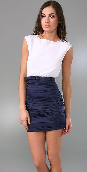 alice + olivia Molly Mod Dress with Belt