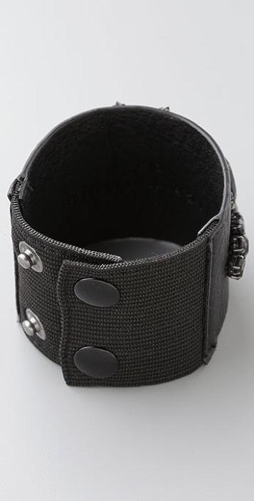 alice + olivia Leather Cuff