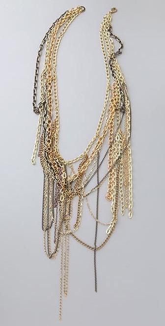 alice + olivia Multi Chain Necklace