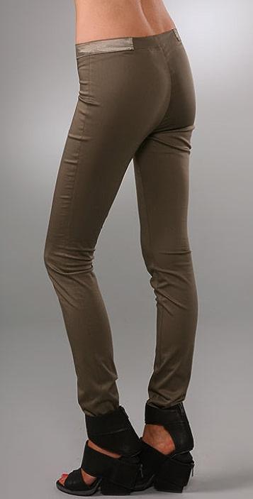 alice + olivia Front Zip Legging Pants
