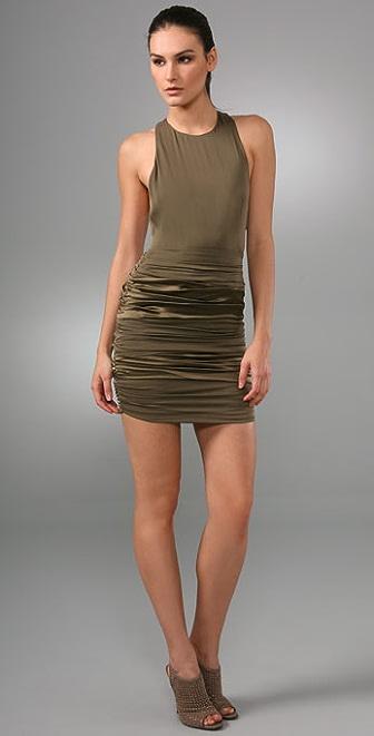 alice + olivia Jessica T Back Zip Dress