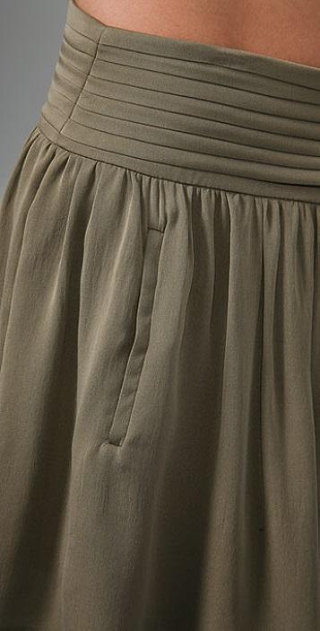 alice + olivia Miniskirt with Pleated Waistband
