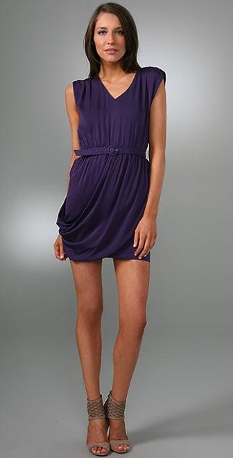 alice + olivia Sydney Faux Wrap Dress