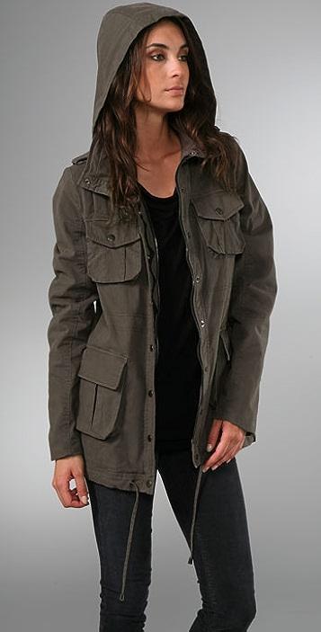 alice + olivia Matthew Safari Coat