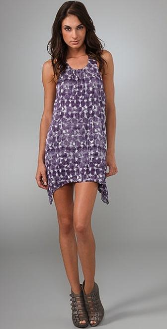 alice + olivia Curved Hem Dress