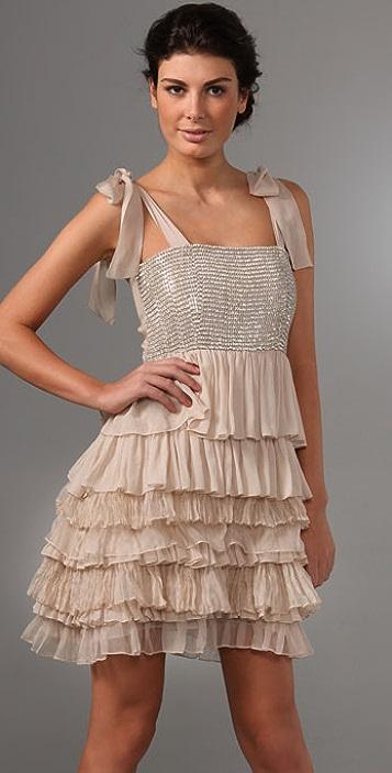 alice + olivia Marianna Rhinestone Dress