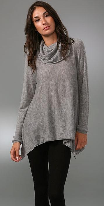 alice + olivia Drape Cowl Neck Sweater