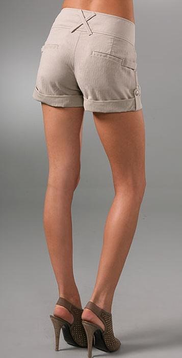 alice + olivia Rolled Cuff Shorts