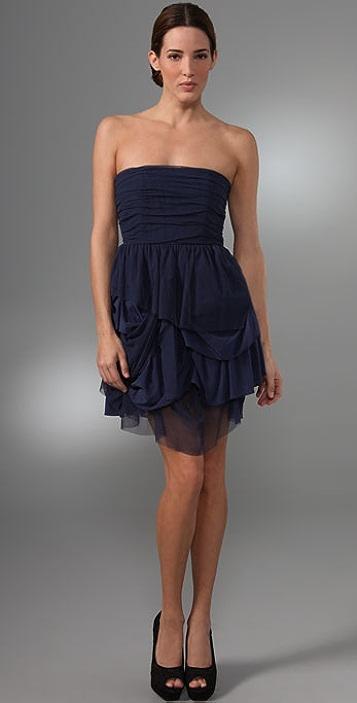 alice + olivia Cleo Strapless Dress