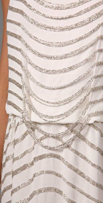 alice + olivia Gabby Embellished Dress