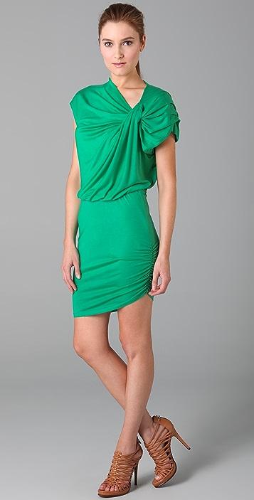 alice + olivia Carla Twisted Dress