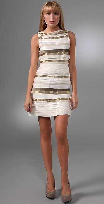 alice + olivia Vivienne Strip Dress