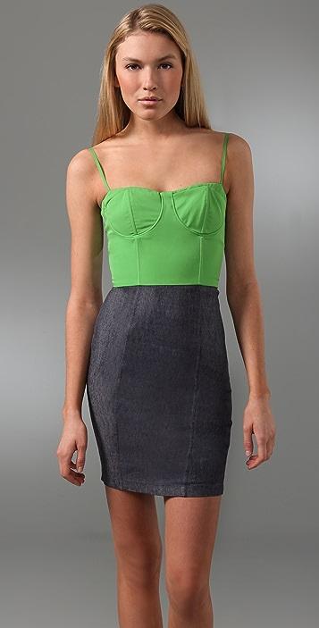 alice + olivia Roxanna Bustier Dress