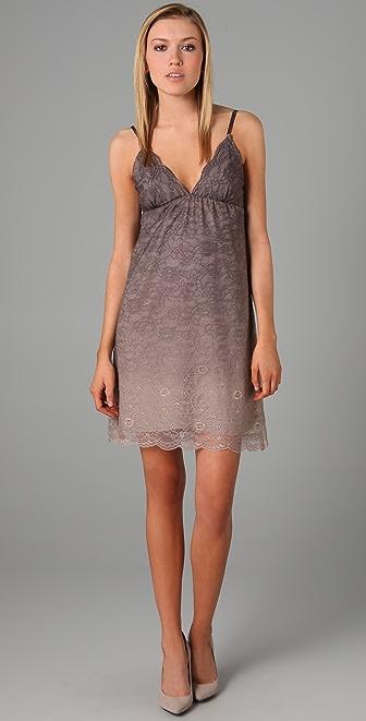 alice + olivia Liz Lace Chemise Dress