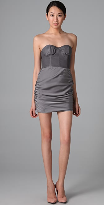 alice + olivia Roxanna Bustier Dress