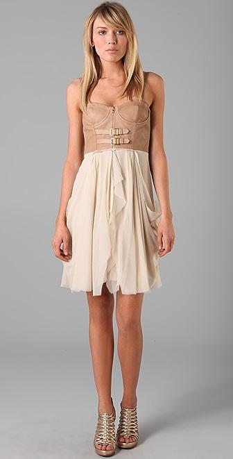 alice + olivia Jeanie Bustier Dress