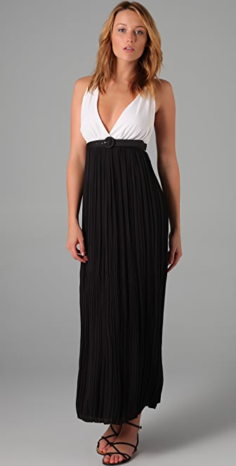 alice + olivia Lauretta Long Dress