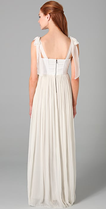 alice + olivia Marianna Long Dress
