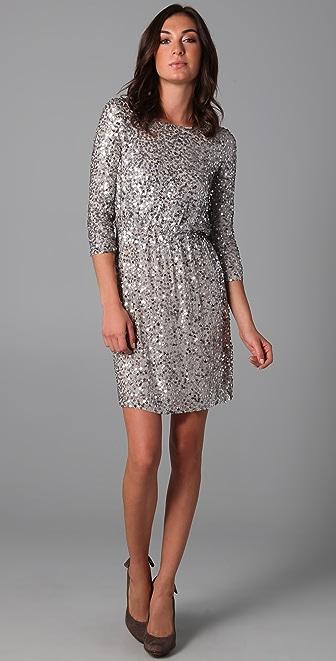 alice + olivia Ritchie Sequin Dress