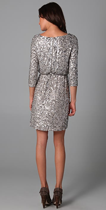 alice + olivia Ritchie Sequin Dress