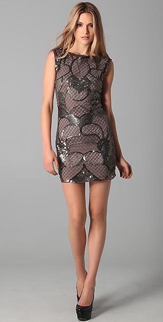alice   olivia Radha Beaded Shift Dress | SHOPBOP