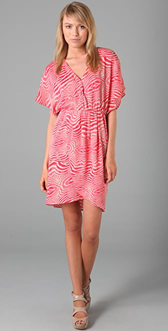 alice + olivia Gitana Button Down Dress