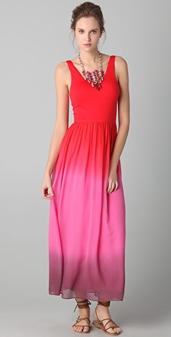 alice + olivia Claire Tank Maxi Dress
