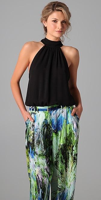 alice + olivia Halter Bodysuit