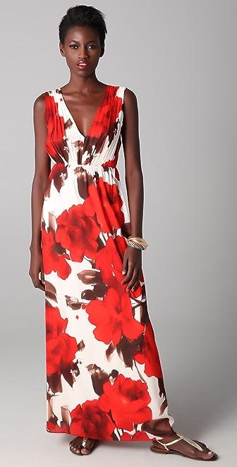 alice + olivia Nina Maxi Dress