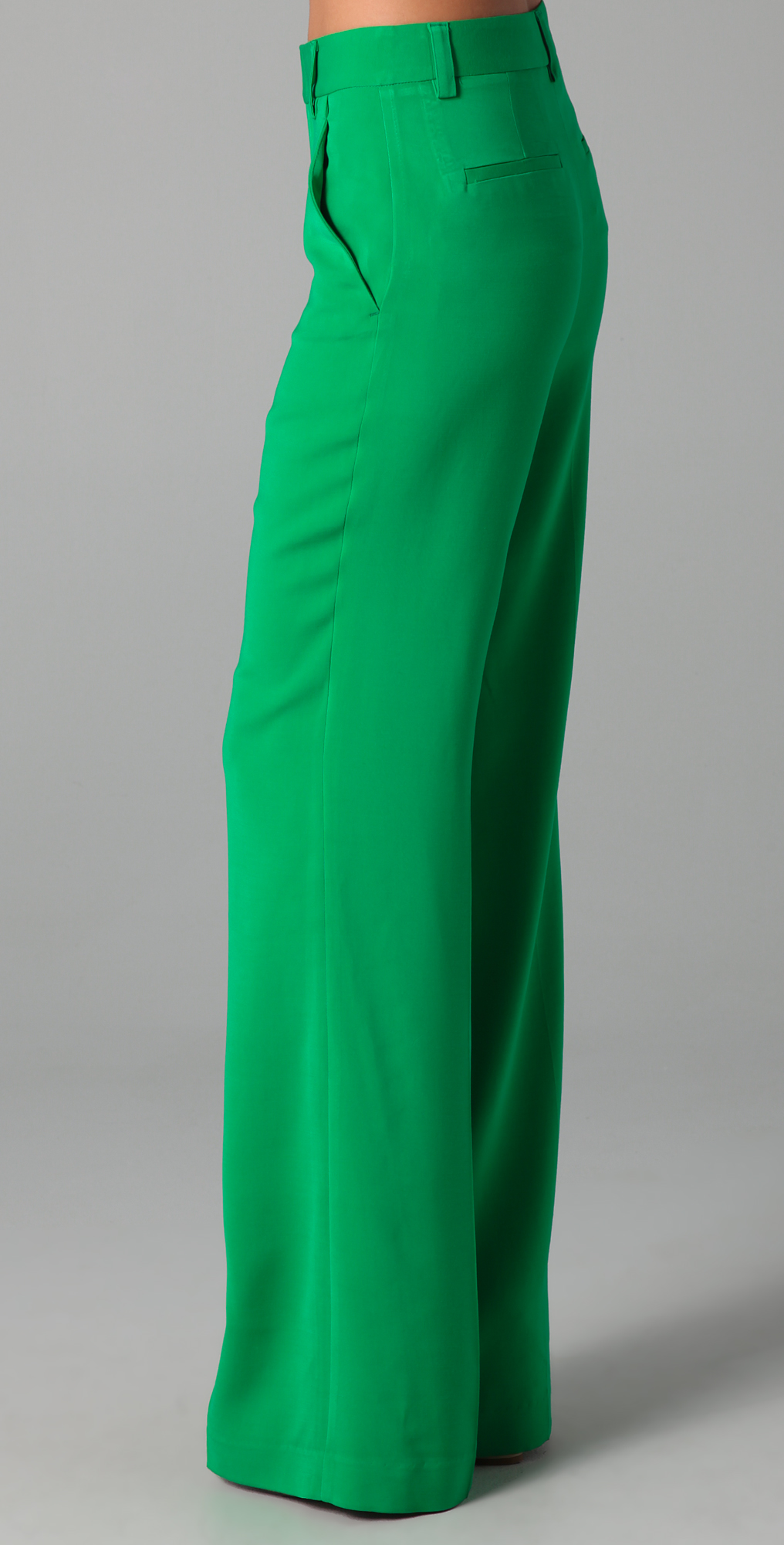 alice   olivia High Waist Wide Leg Pants | SHOPBOP