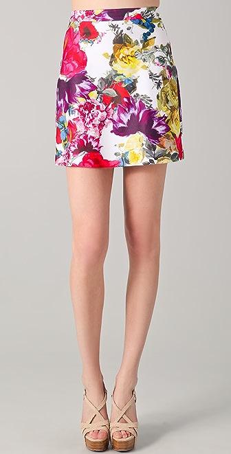 alice + olivia Riley A Line Skirt