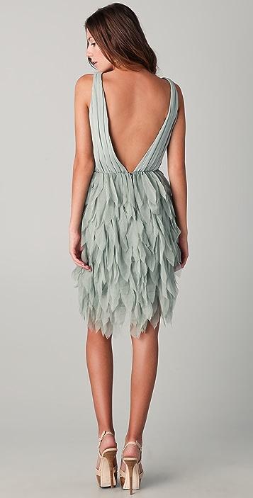 alice + olivia Tibby Petal Dress