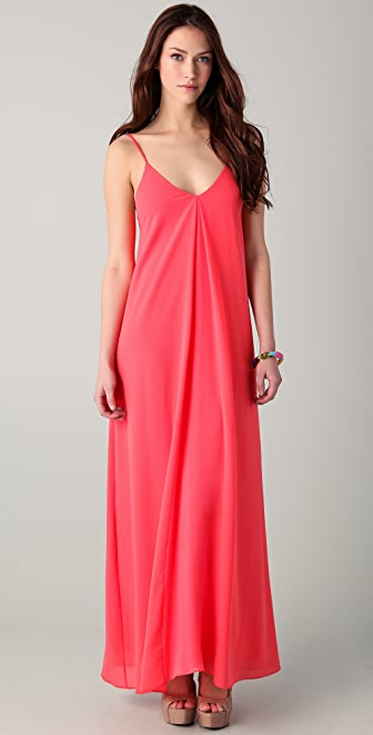 alice + olivia Adele Maxi Tank Dress