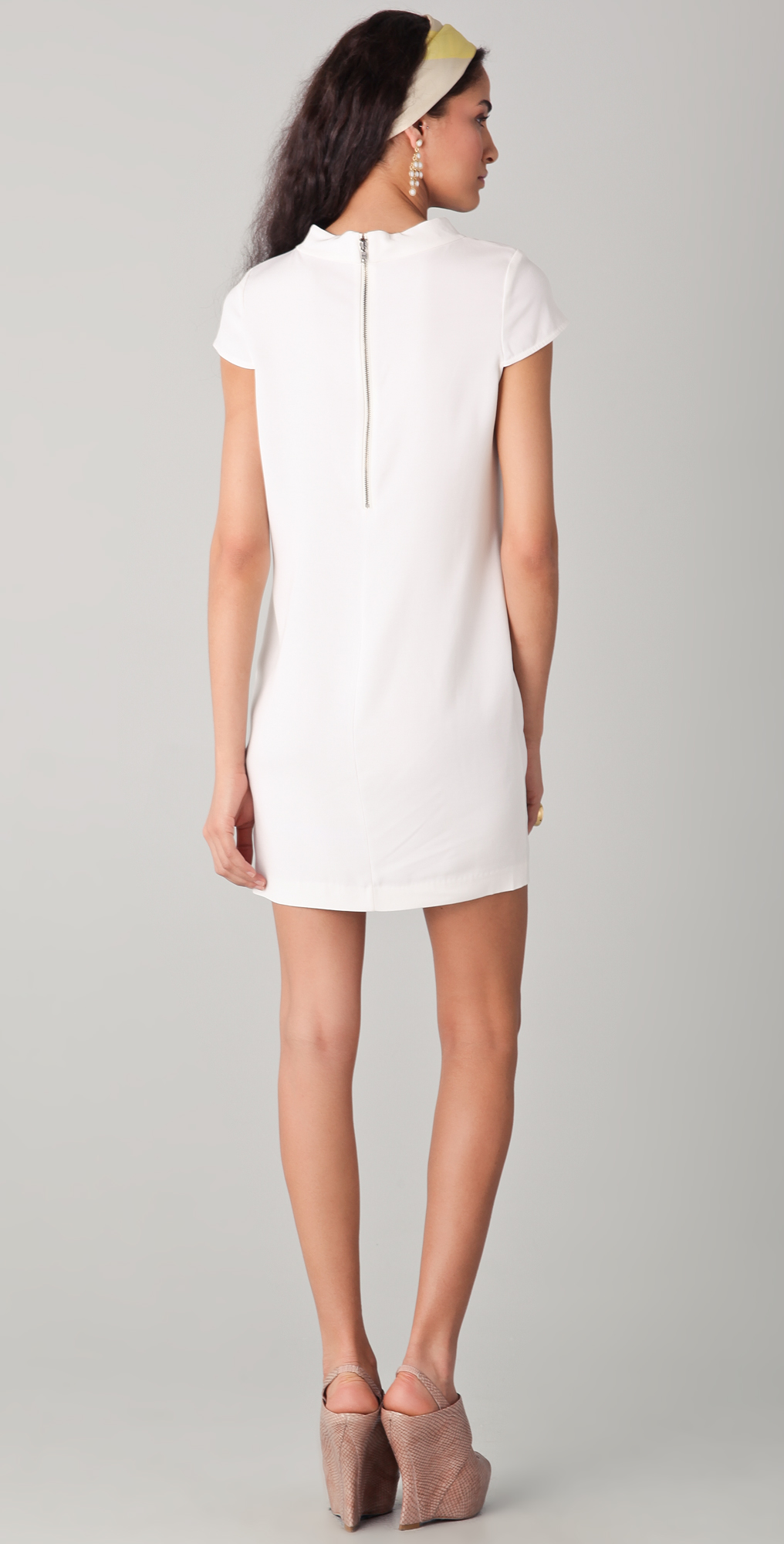 dd99b566b20 alice + olivia Diaz Boxy Shift Dress
