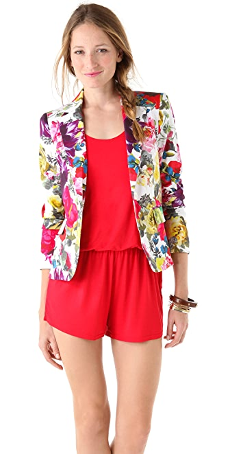 alice   olivia Elyse Floral Print Blazer | SHOPBOP SAVE UP TO 25 ...