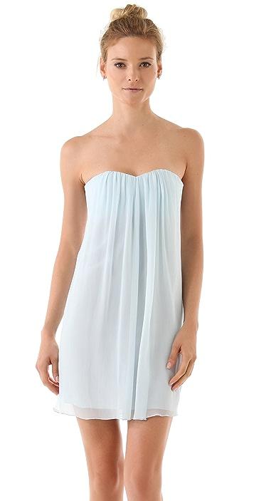 alice + olivia Jazz Center Drape Dress