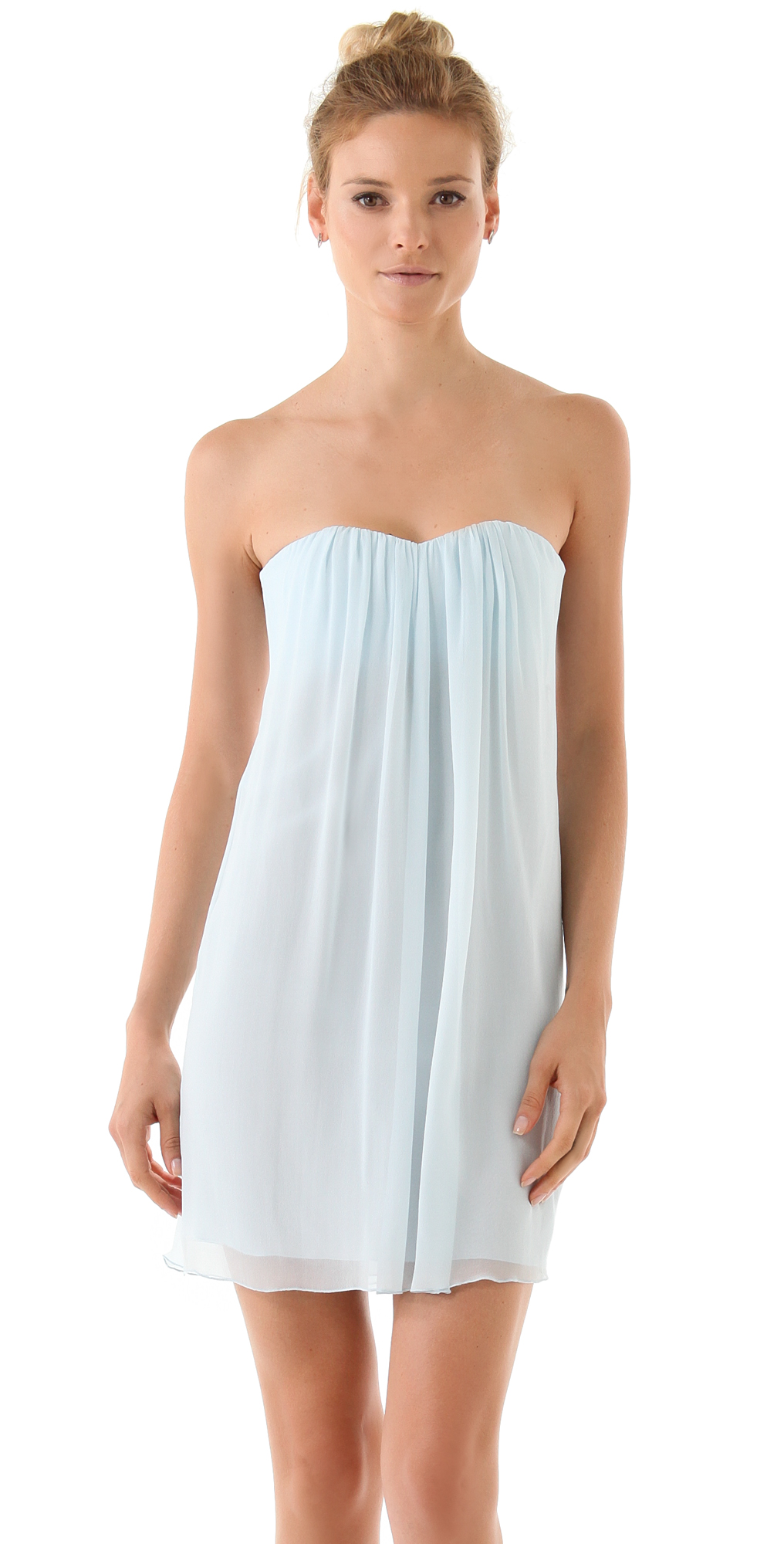alice   olivia Jazz Center Drape Dress  SHOPBOP