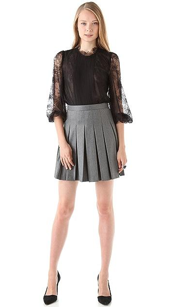 alice + olivia Britta Miniskirt