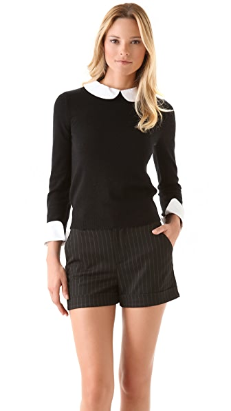alice + olivia Porla Collared Sweater
